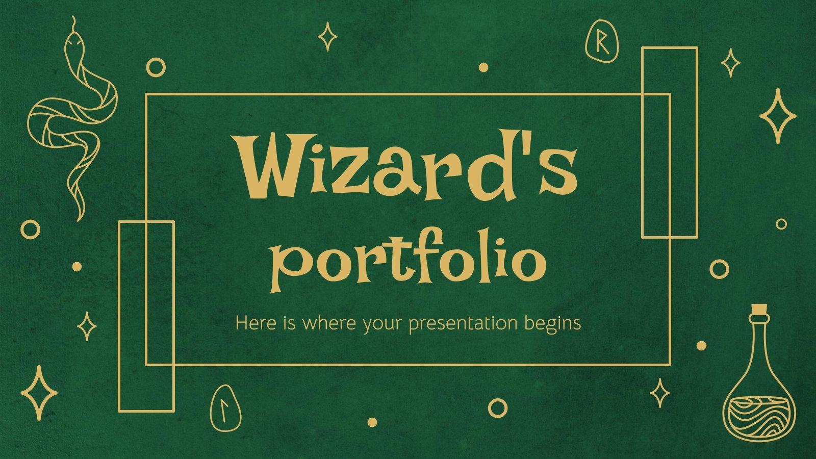 Portfolio pour les magiciens : Modèles de présentation