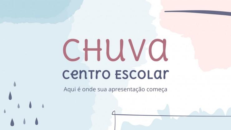 Chuva Centro Escolar : Modèles de présentation