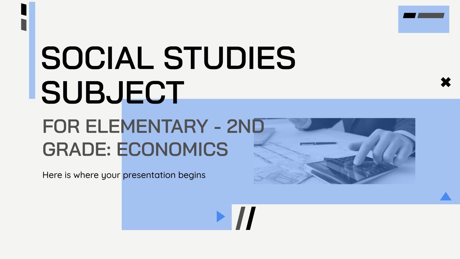 Grundschule Sozialkunde: Wirtschaft Präsentationsvorlage