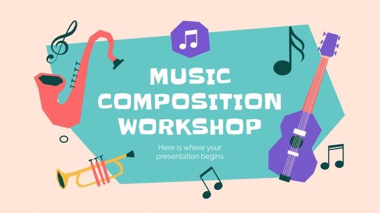 Atelier de composition musicale : Modèles de présentation