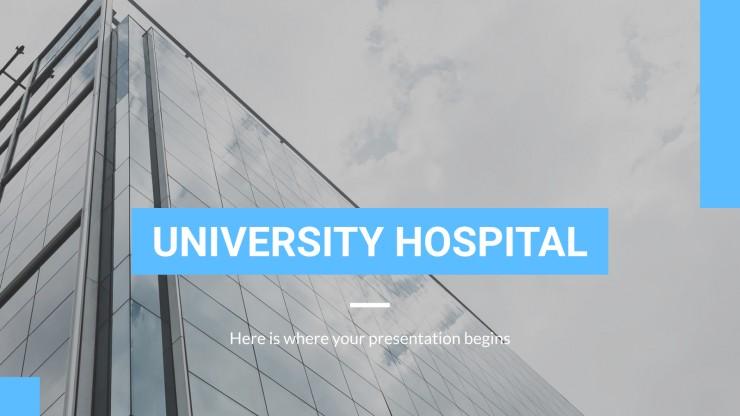 Modelo de apresentação Hospital universitário