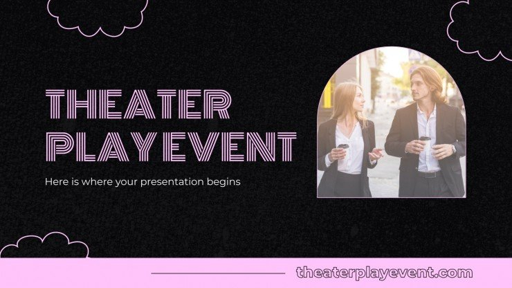 Theater Play Event presentation template