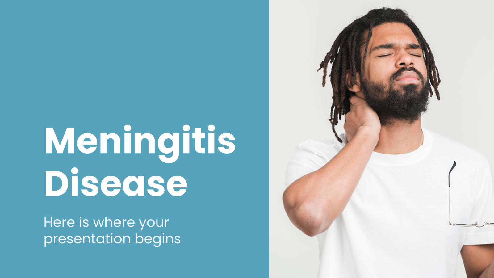 Meningitis Disease presentation template