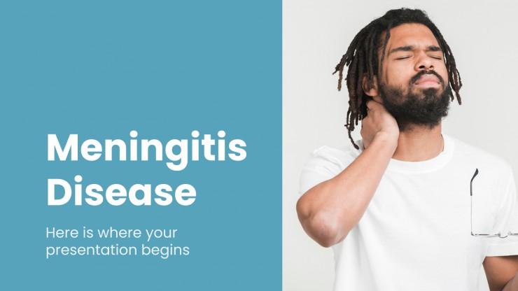 Modelo de apresentação Caso de meningite