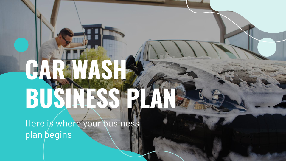 Car Wash Business Plan presentation template