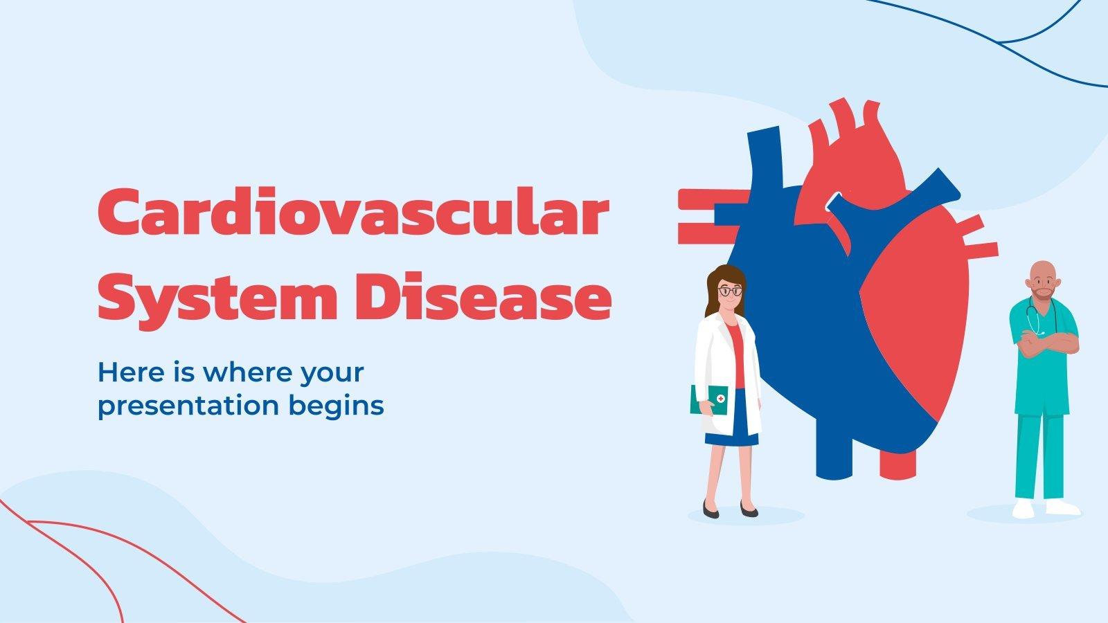Cardiovascular System Disease presentation template