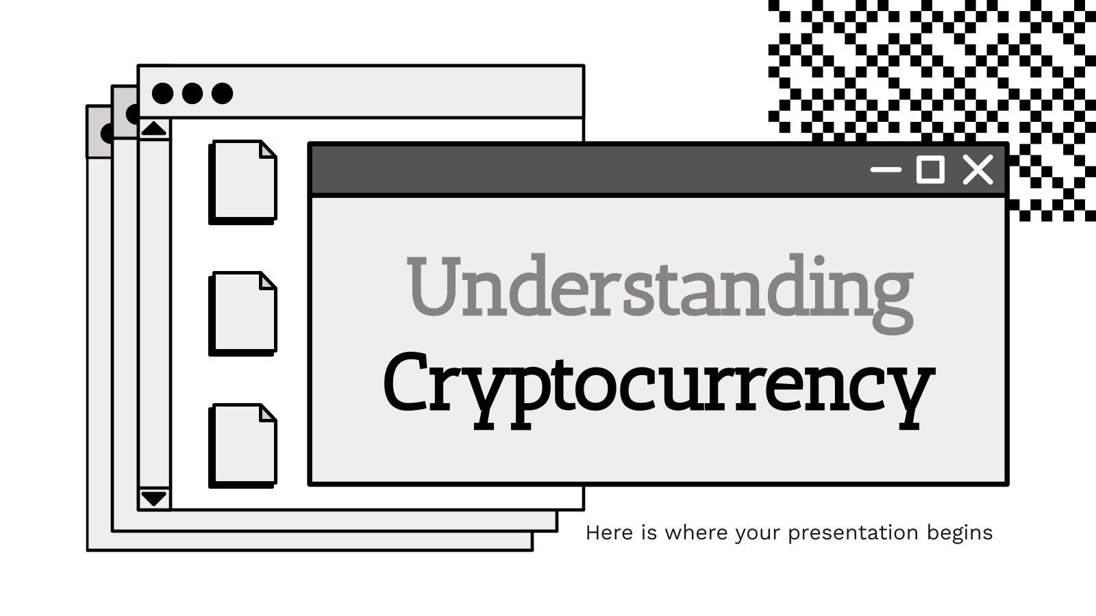 Modelo de apresentação Entendendo as criptomoedas