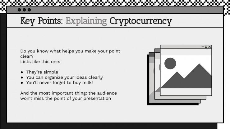 Understanding Cryptocurrency presentation template