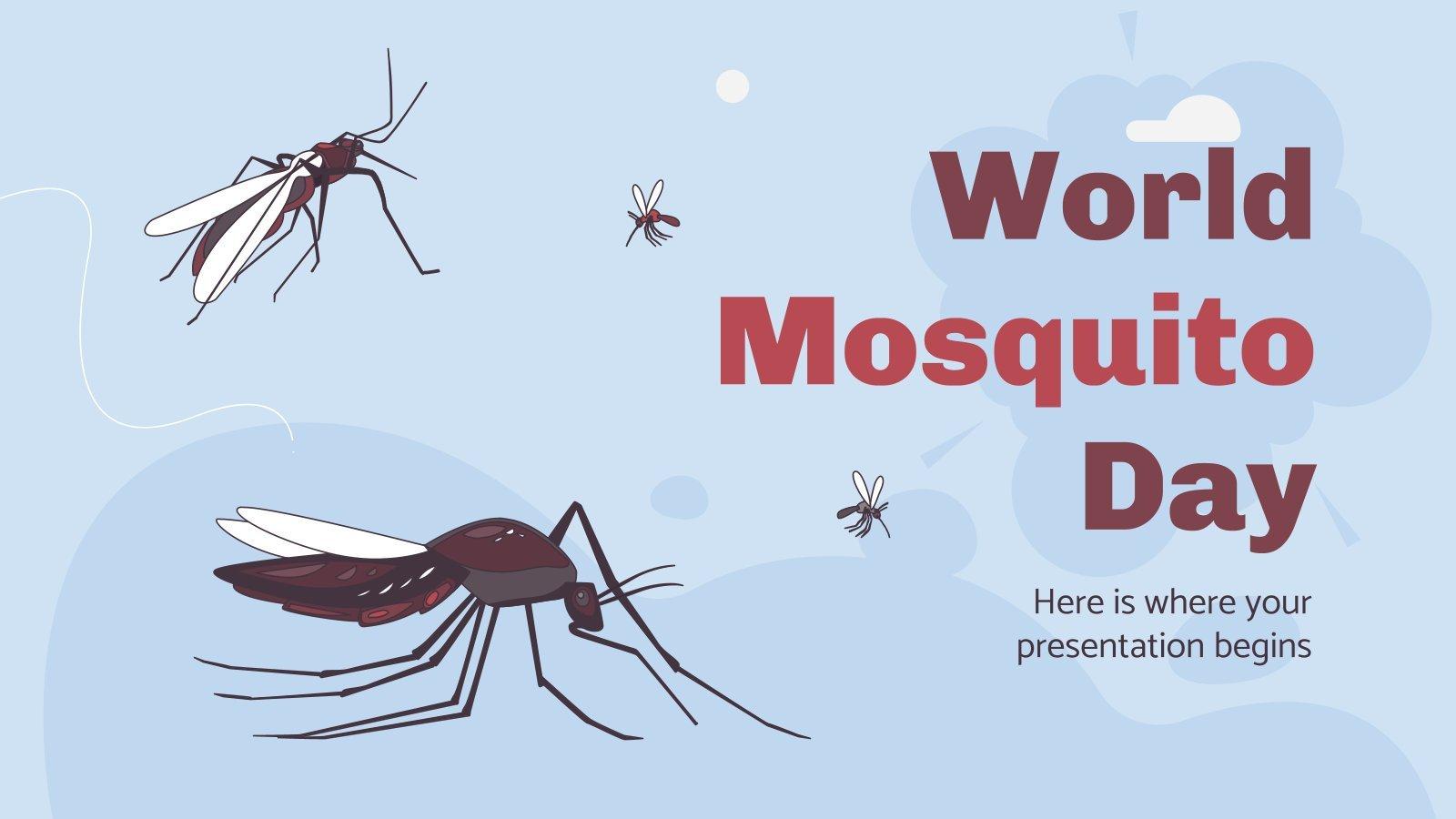 Journée mondiale du moustique : Modèles de présentation