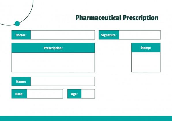 Ordonnances pharmaceutiques : Modèles de présentation