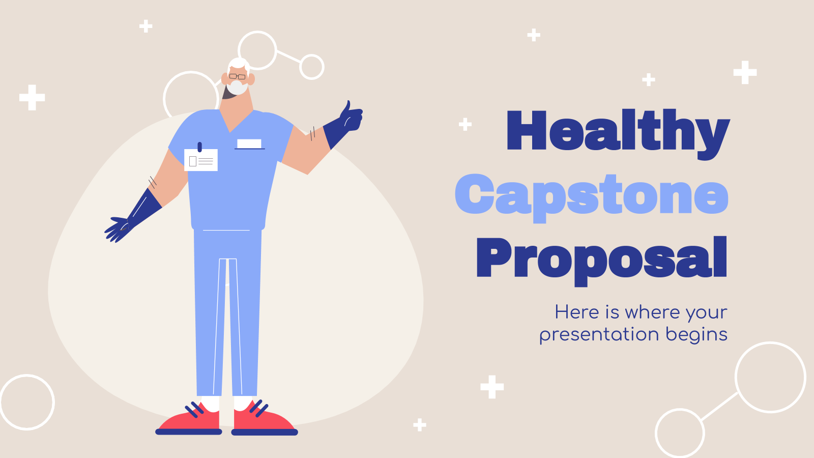 Healthy Capstone Proposal presentation template