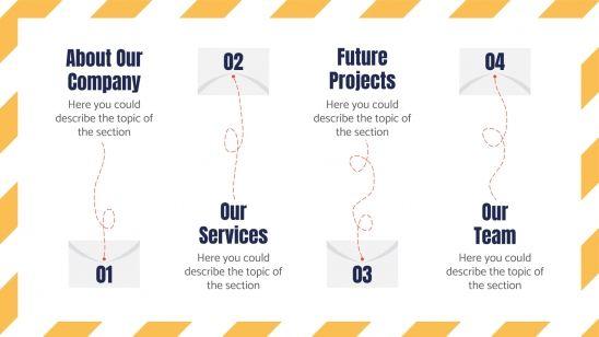 Modelo de apresentação Agência de Correios