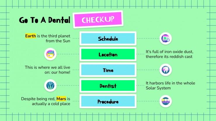Warum sind Süßigkeiten schlecht für die Zähne? Präsentationsvorlage