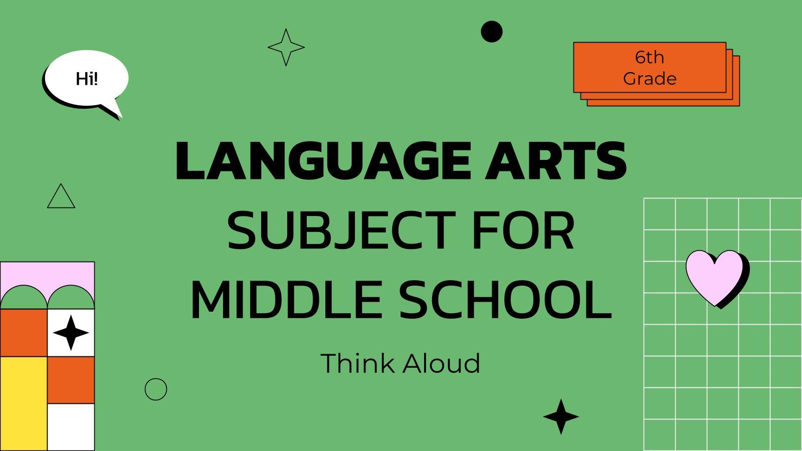 Cours de langue pour le collège :