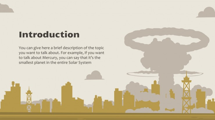 International Day Against Nuclear Tests presentation template
