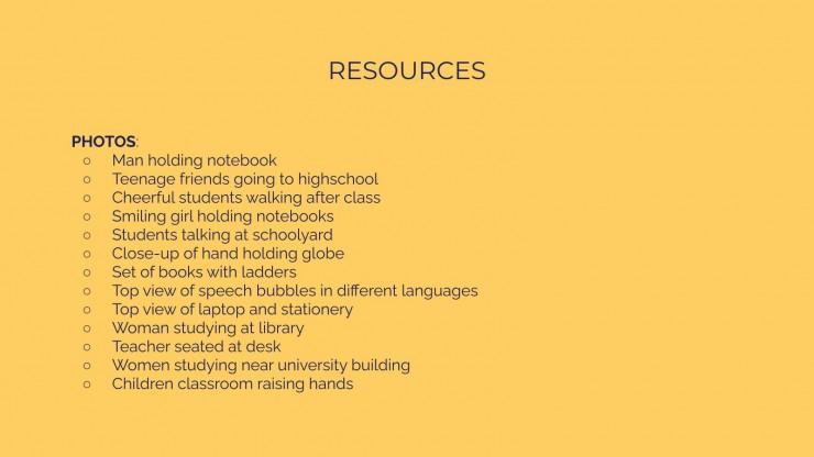 Sprachzentrum Präsentationsvorlage