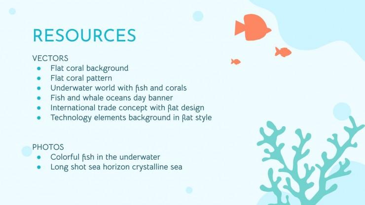Sea Life presentation template