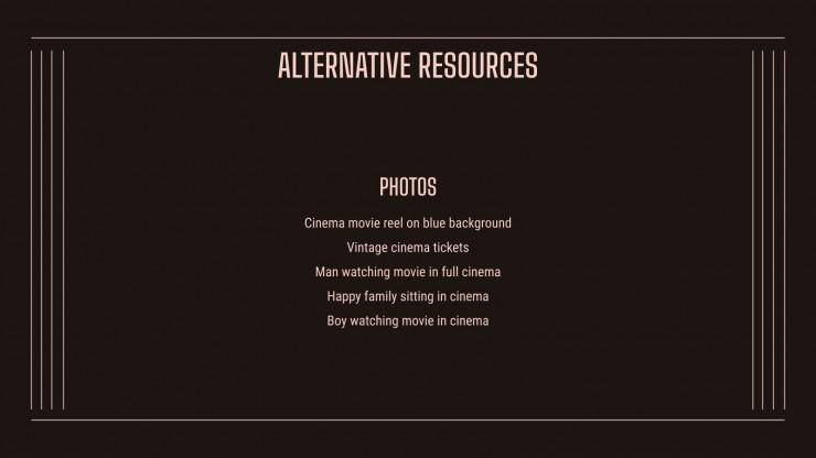 Plantilla de presentación Ven al cine