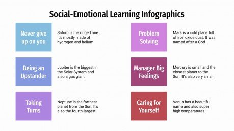 Social-Emotional Learning Infographics presentation template