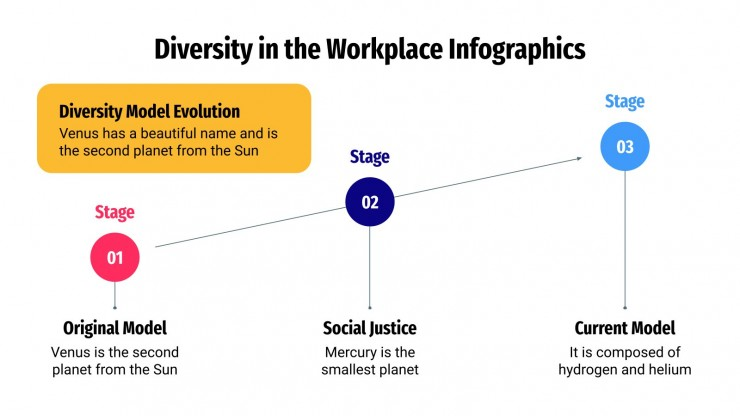 Diversity in the Workplace Infographics presentation template