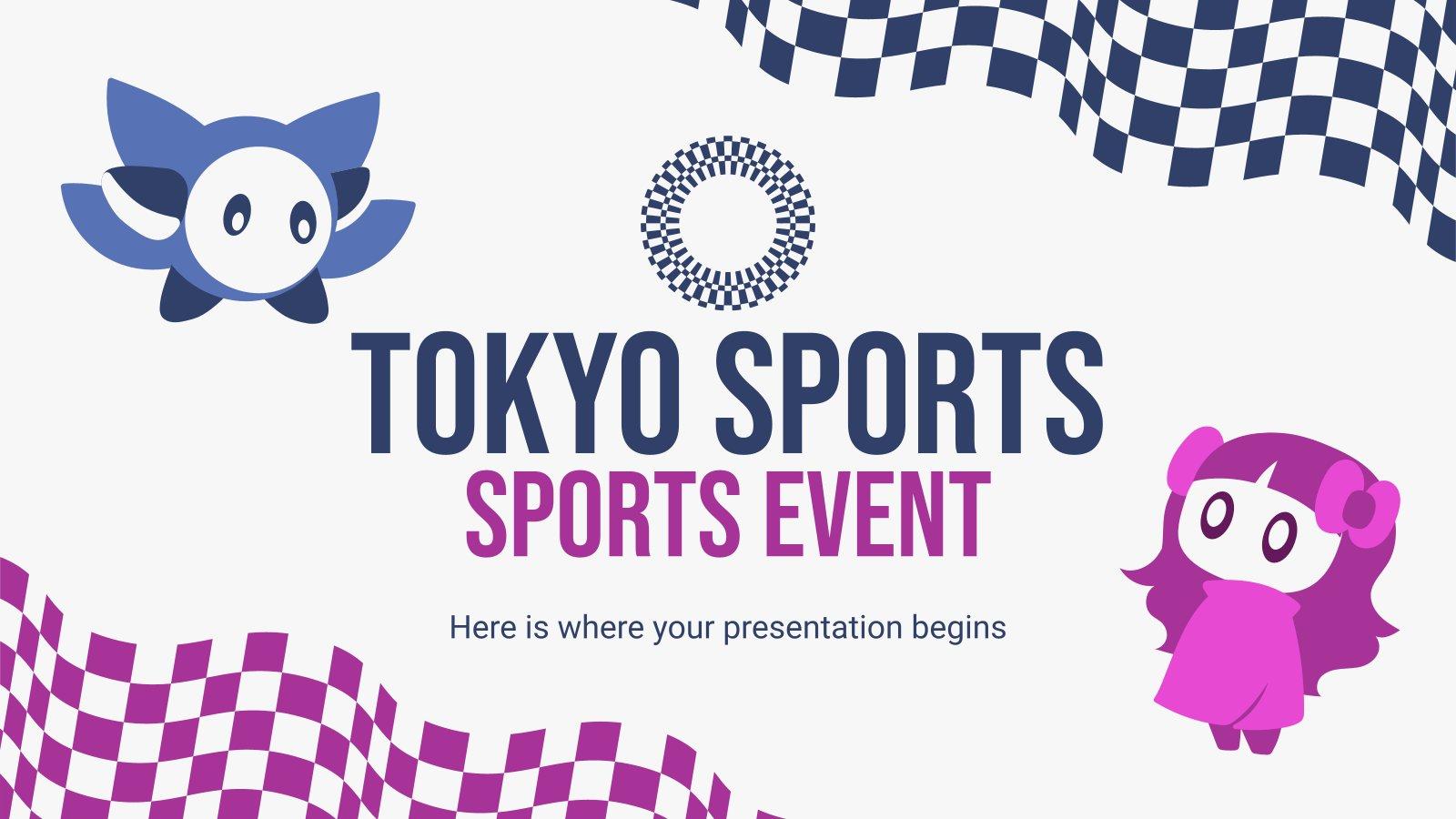 Tokyo World Sports Event presentation template