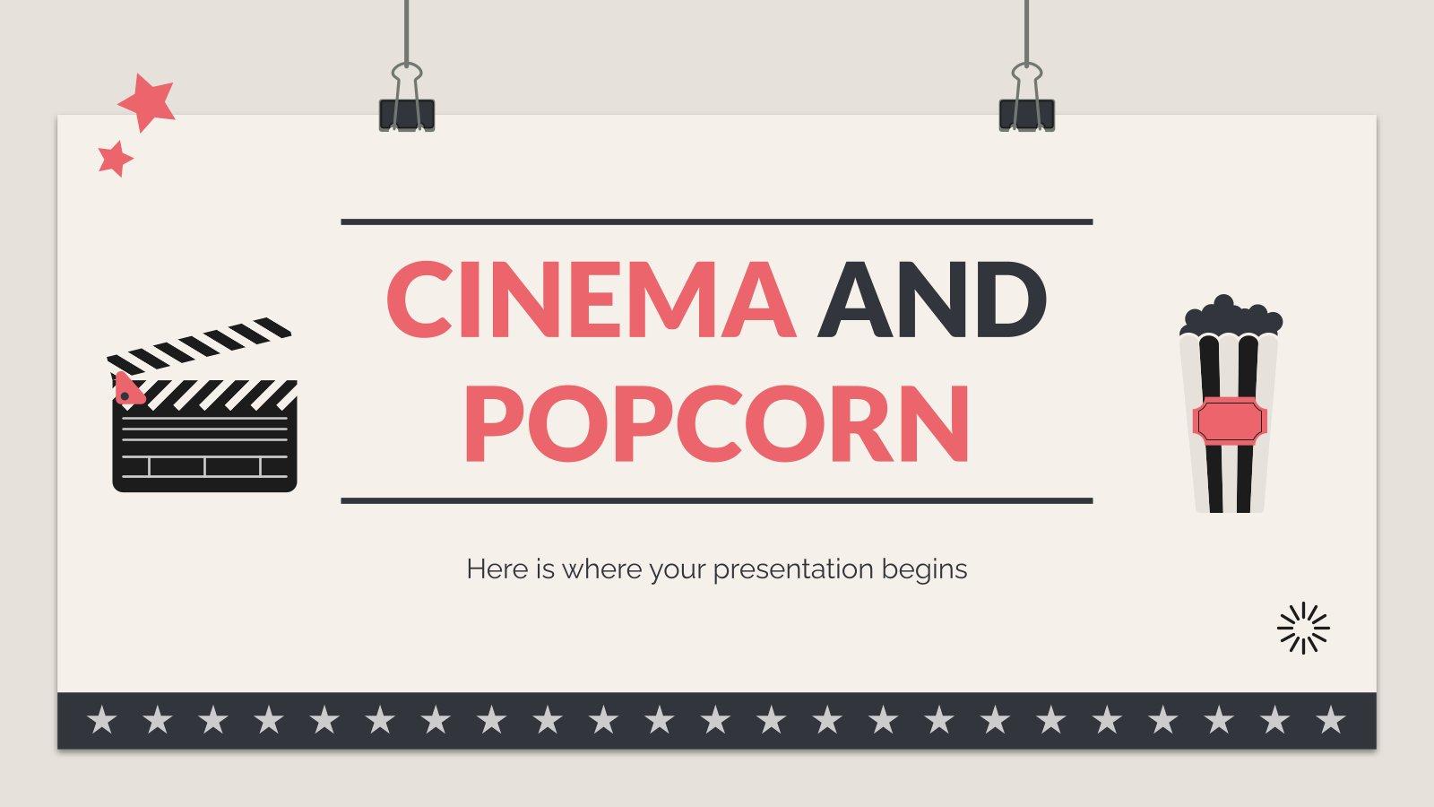 Cinéma et pop-corn : Modèles de présentation