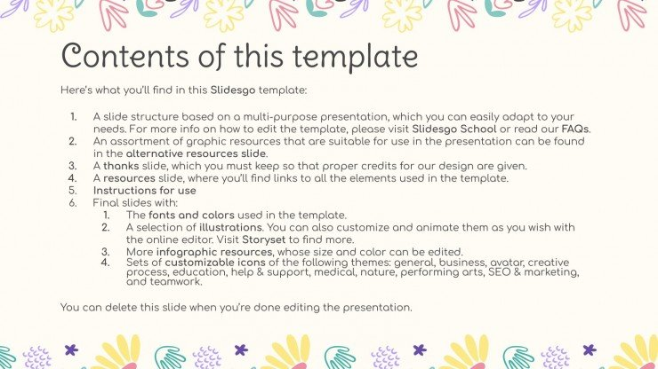 This Is My Cat presentation template