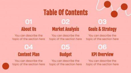 Systematisches Chaos MK Plan Präsentationsvorlage