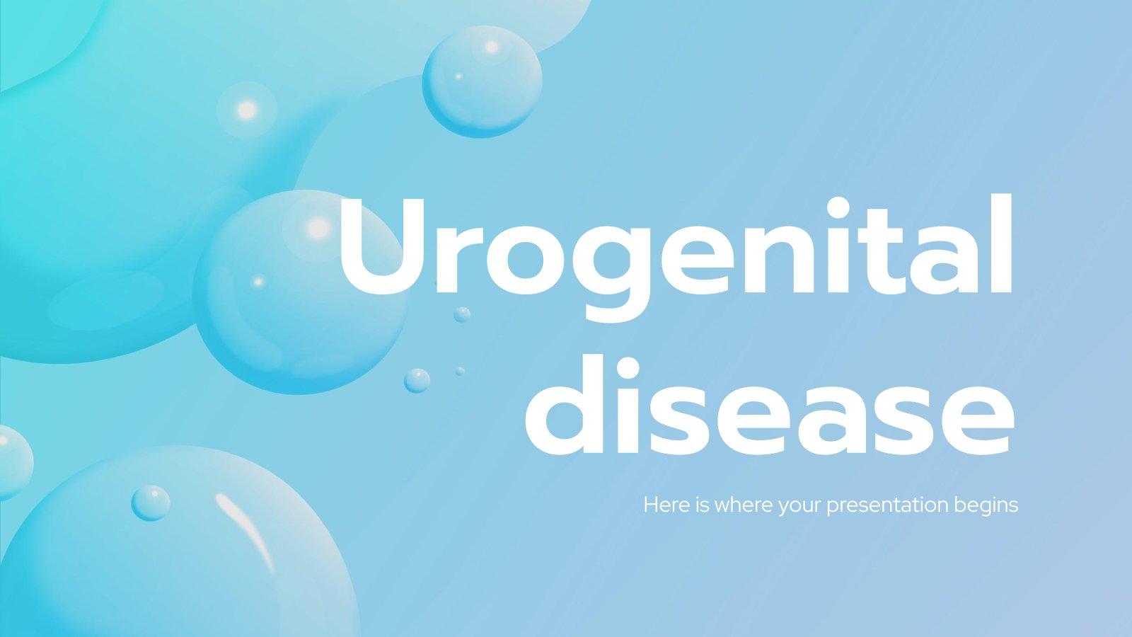 Plantilla de presentación Enfermedades urogenitales