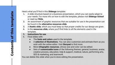 Minithème simple de pitch deck : Modèles de présentation