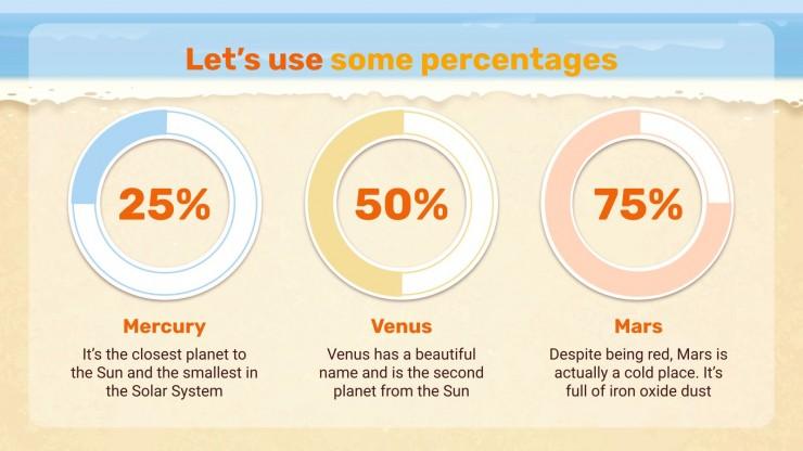 Plantilla de presentación Consejos para protegerse del sol