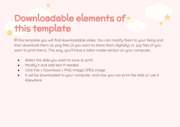 Mother and Baby Greeting Cards presentation template