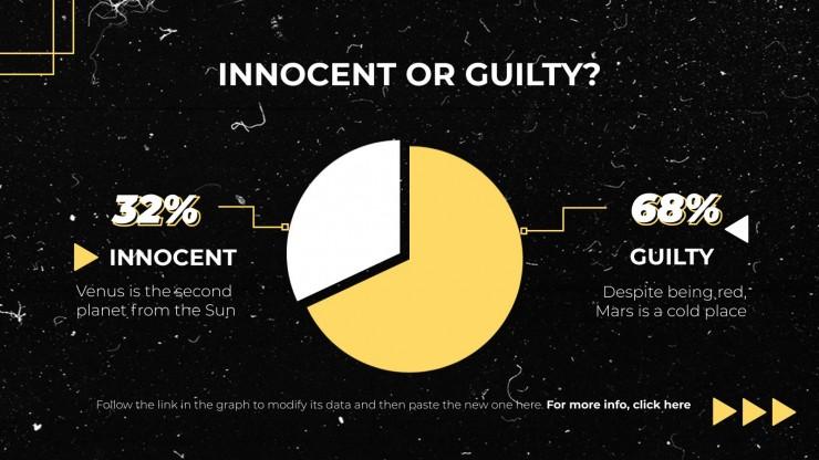 Plantilla de presentación ¿Culpable o inocente?