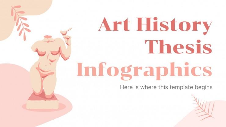 Infografiken Kunstgeschichte Abschlussarbeit
