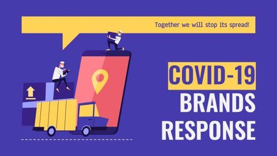 Modelo de apresentação Resposta das marcas à COVID-19