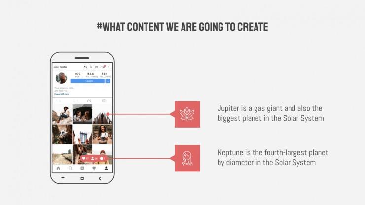 Plantilla de presentación Marketing de influencers