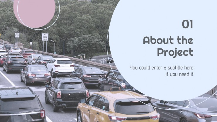 CO2 Reduction Project Proposal presentation template
