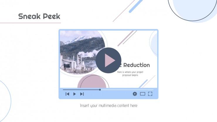 Modelo de apresentação Projeto de redução de CO2