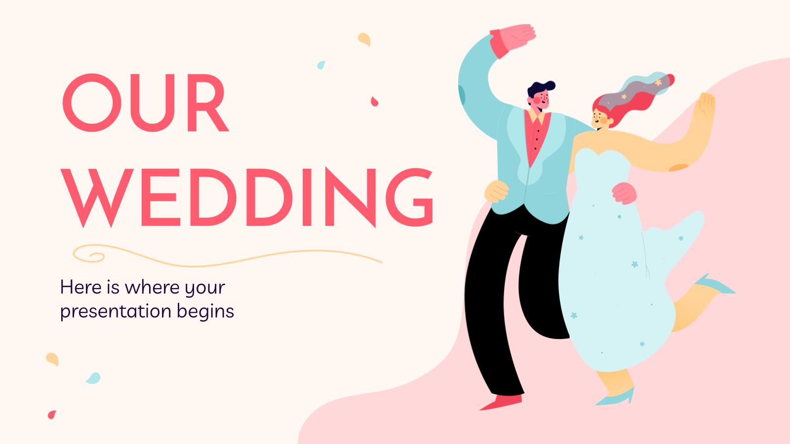 Modelo de apresentação Nosso casamento