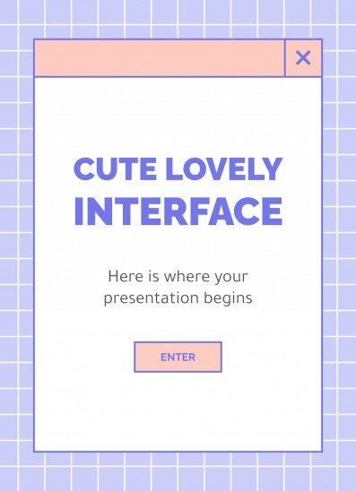 Cute Lovely Interface A4
