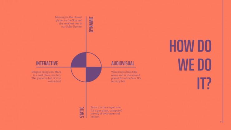 Agence de création : Modèles de présentation