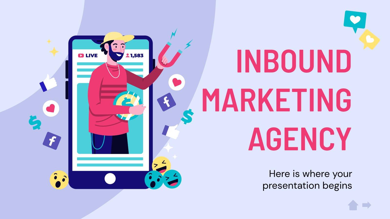 Plantilla de presentación Agencia de inbound marketing