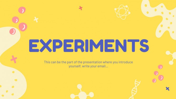 Science Subject for Elementary - 2nd Grade: Chemistry presentation template