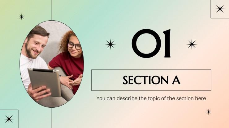 Minithème sur les sciences sociales : Modèles de présentation