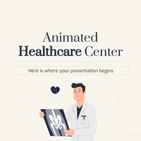 Animated Healthcare Center Instagram Post