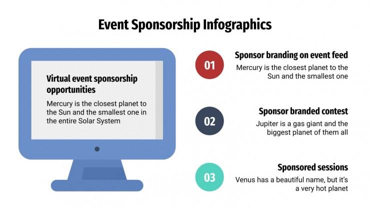 Event Sponsorship Infographics presentation template