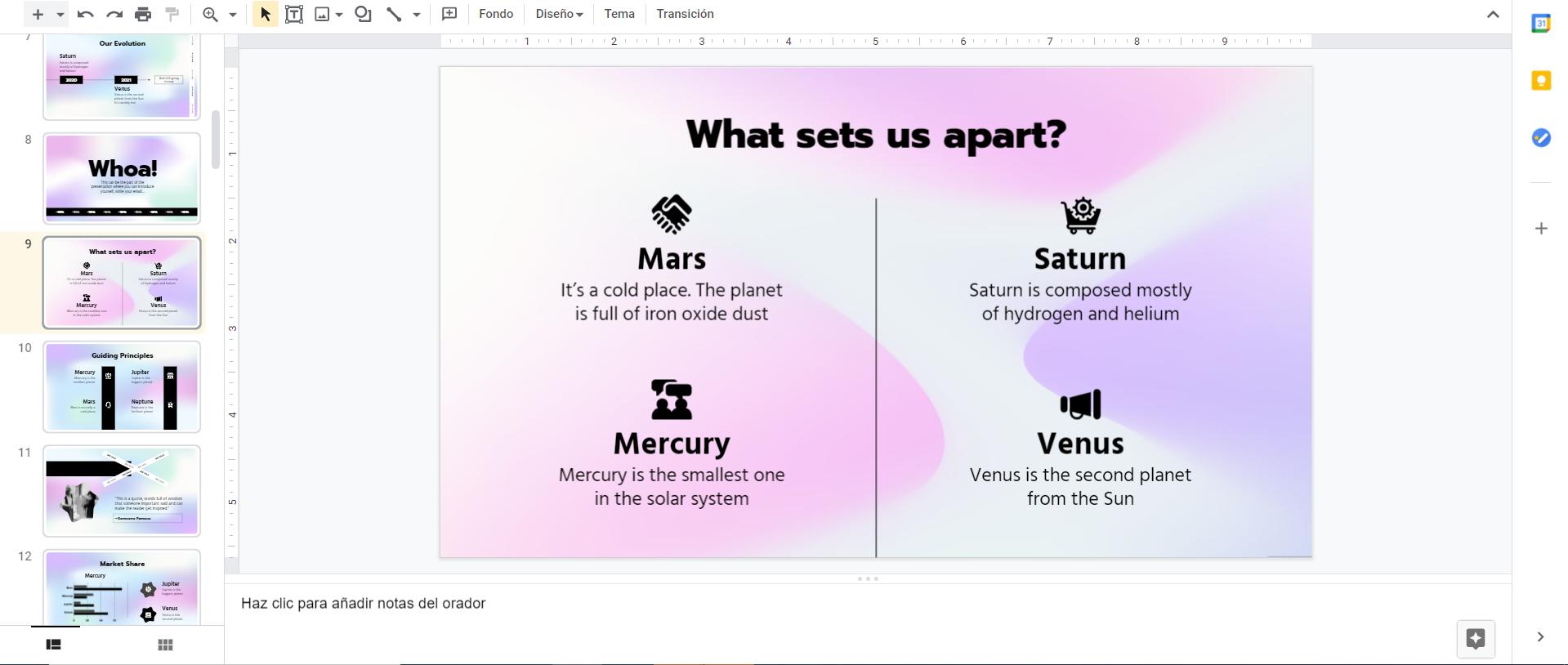 Qué es para qué sirve Google Slides