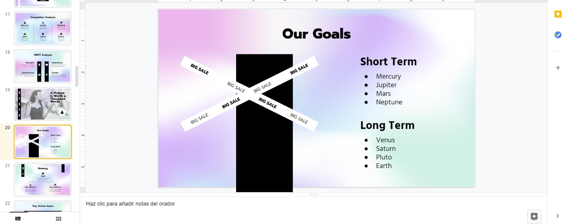 Qué significa Google Slides