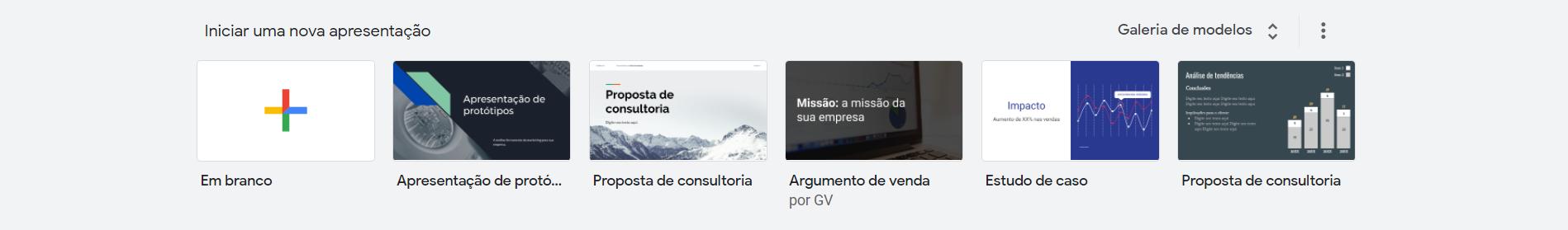 Para que serve Google Slides