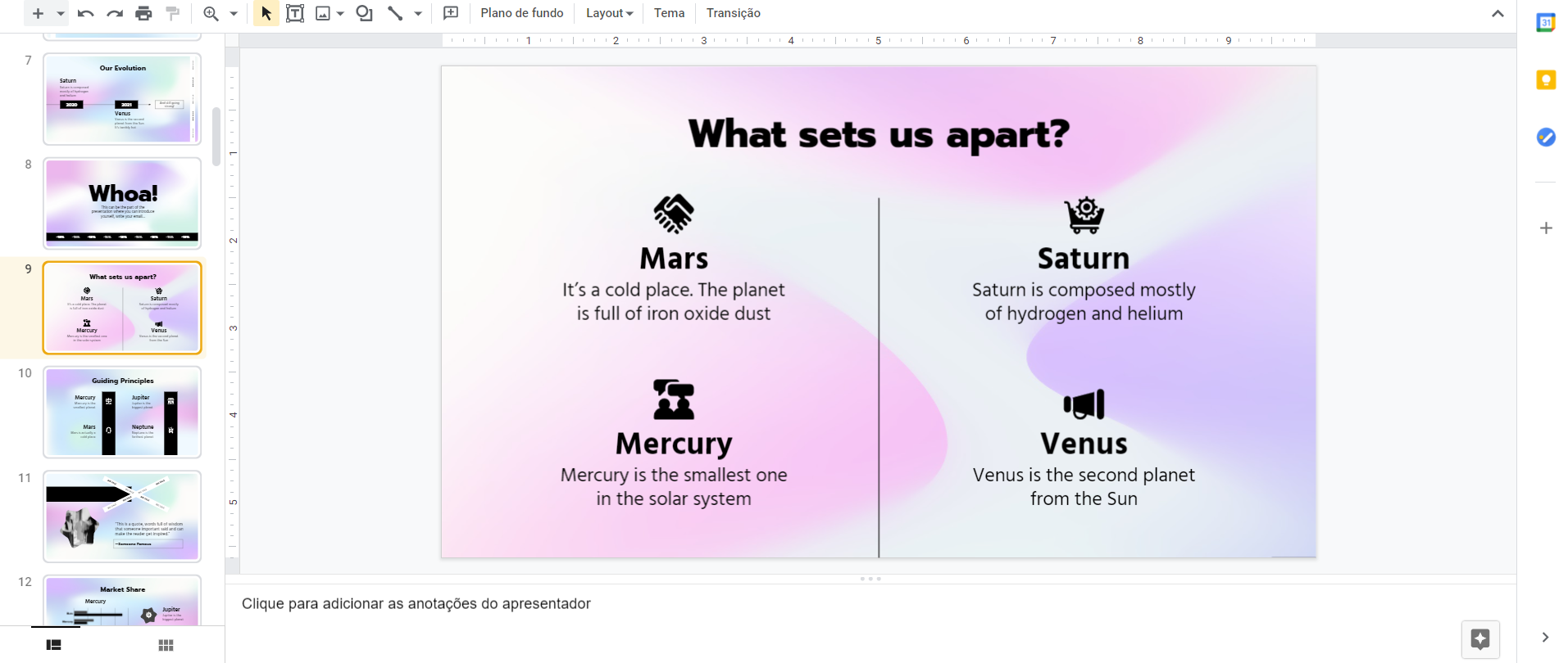 O que é o Google Slides para que serve